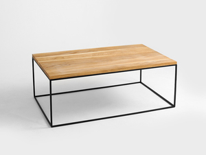 TENSIO SOLID WOOD 100x60 coffee table small 3