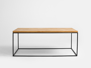 TENSIO SOLID WOOD 100x60 coffee table small 0