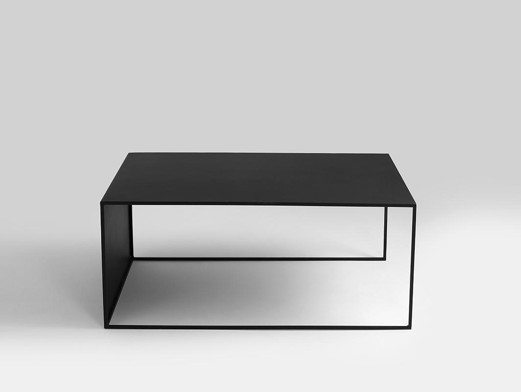2 WALL METAL 100x60 coffee table