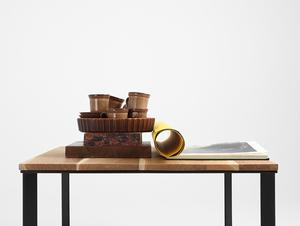 SKADEN SOLID WOOD 100x100 coffee table small 1