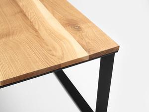SKADEN SOLID WOOD 100x100 coffee table small 4