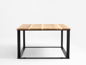 SKADEN SOLID WOOD 100x100 coffee table small 0