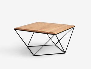 DARYL SOLID WOOD 80 coffee table small 0