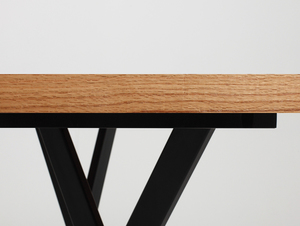 ZX WOOD dining table small 4