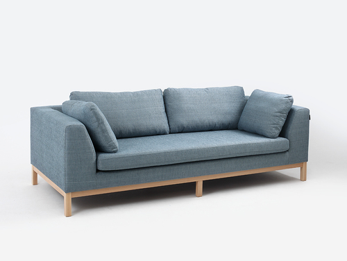 Three-seat sofa-bed AMBIENT WOOD