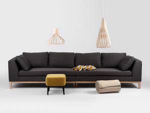 4-seat modular sofa AMBIENT WOOD small 2