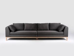 4-seat modular sofa AMBIENT WOOD small 3