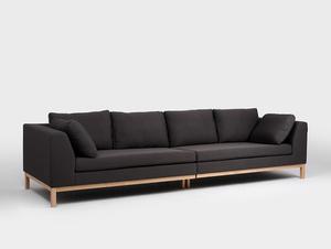 4-seat modular sofa AMBIENT WOOD small 0