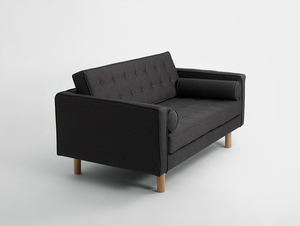 Two-seat sofa-bed TOPIC WOOD small 3