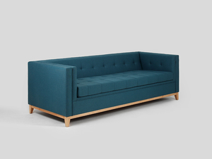 Three-seat sofa-bed by-TOM small 2
