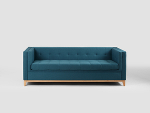 Three-seat sofa-bed by-TOM small 0