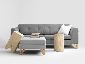 3-seat sofa WILLY small 2