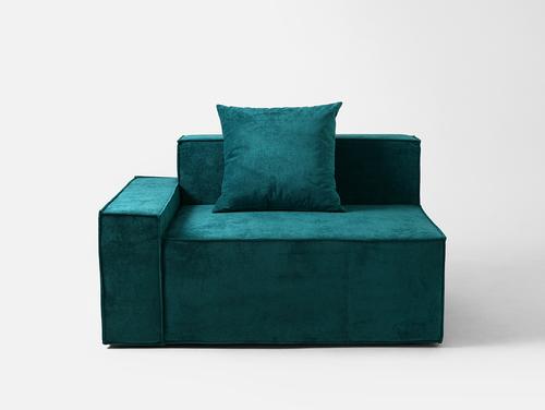 MODU 95/135 BL sofa module