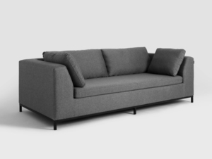 Three-seat sofa-bed AMBIENT small 3