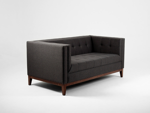 Two-seat sofa-bed by-TOM small 3