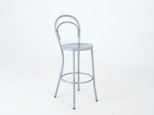 CHAPLIN BAR bar stool - silver