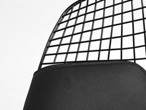 DIAMENT chair - black, black cushion small 4