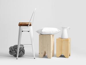 PARIS BAR ARMS 76 bar stool small 2
