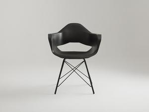 MATCH ARMS METAL BLACK chair - black small 2