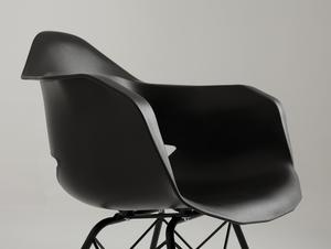 MATCH ARMS METAL BLACK chair - black small 4