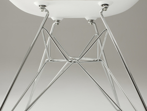 MATCH ARMS METAL chair - white small 4