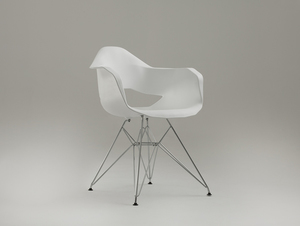 MATCH ARMS METAL chair - white small 0
