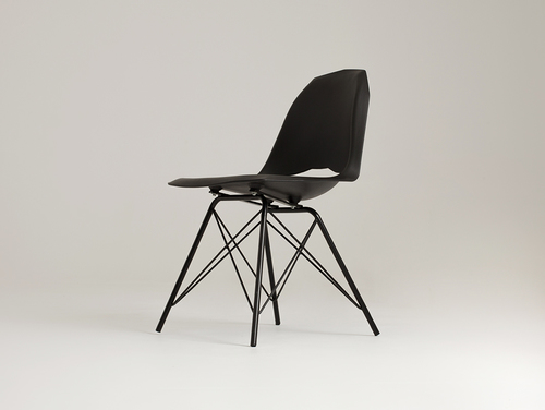 MATCH METAL BLACK chair - black