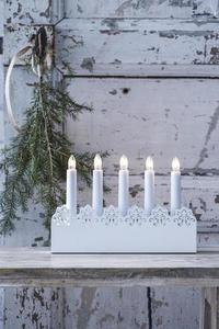 PRINCE Candle holder 5L White small 1
