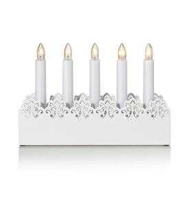 PRINCE Candle holder 5L White small 2