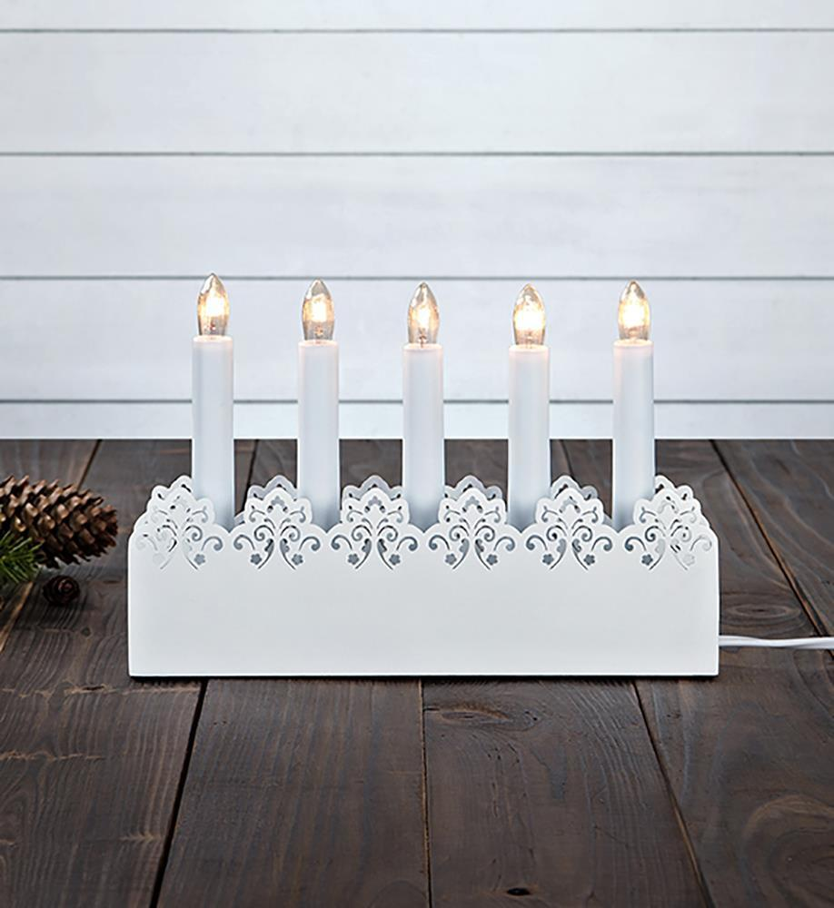 PRINCE Candle holder 5L White