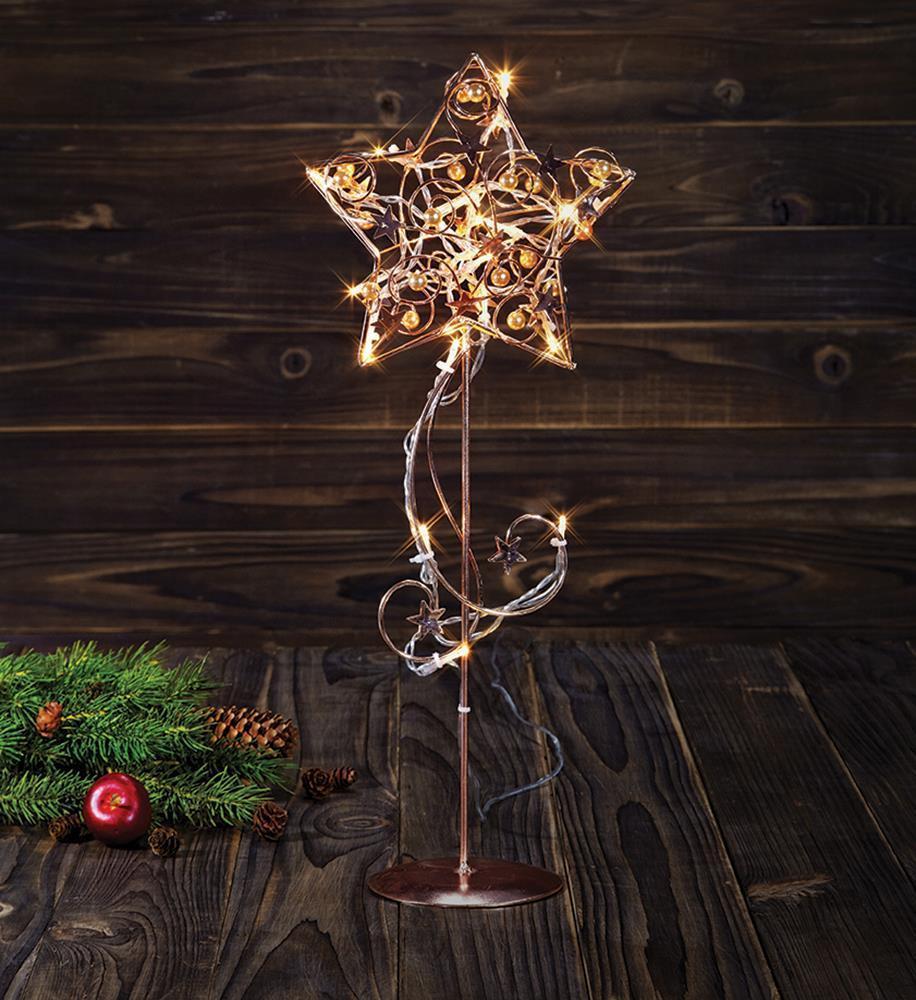 HAGABERG Table decoration 45cm Copper