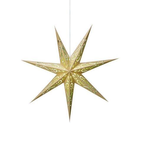 ELIN Paper star gold and green
