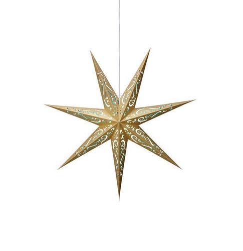 ELIN Paper Star blue-gold