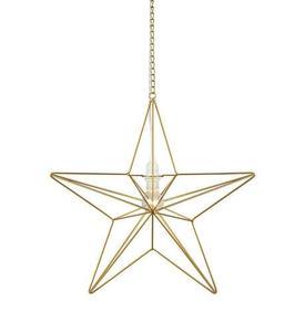TJUSA Standing decoration 42cm E14 Golden small 1
