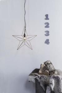 TJUSA Standing decoration 42cm E14 Golden small 0