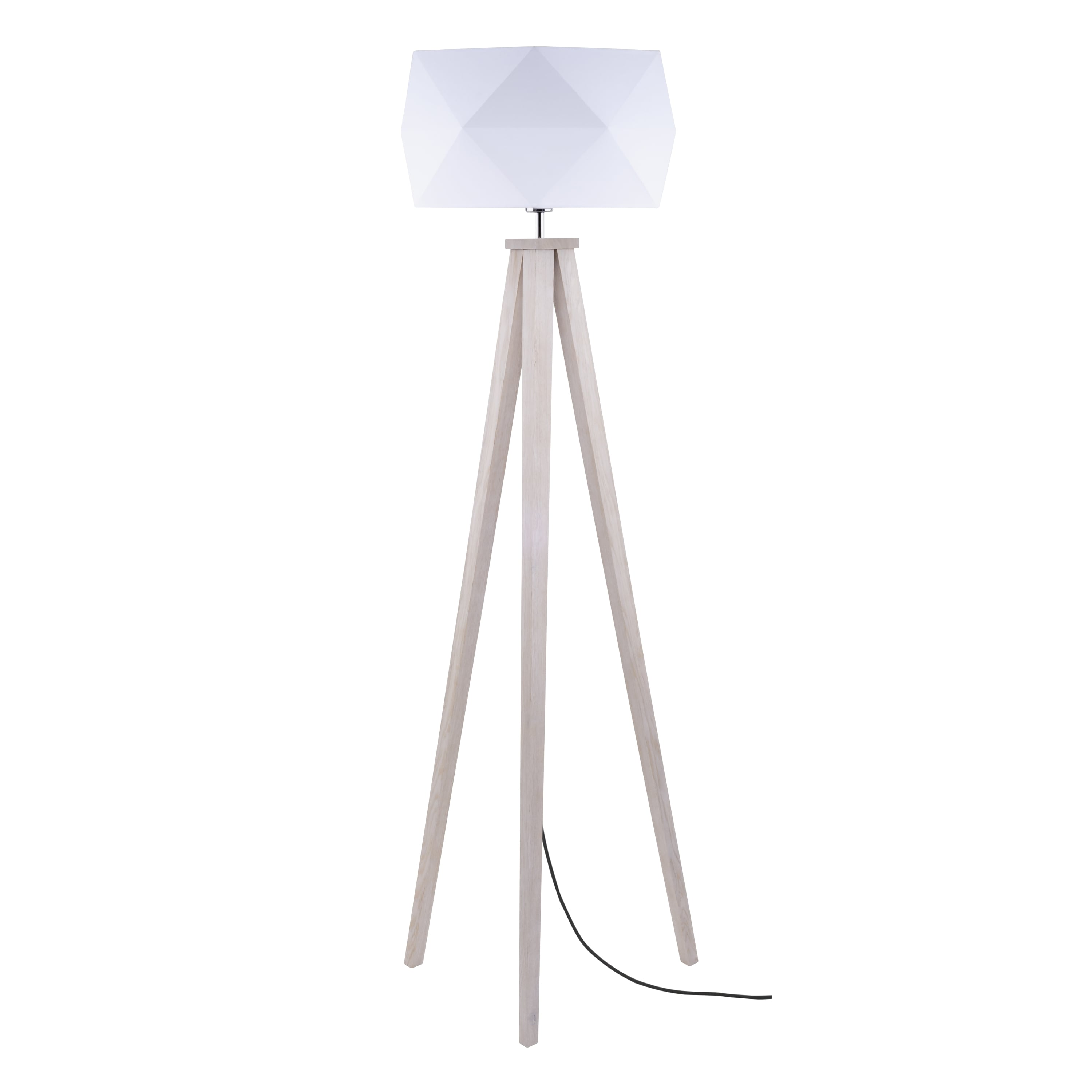 best sneakers 9b979 fc037 Floor lamp Finja dąb / anthracite / white E27 60W