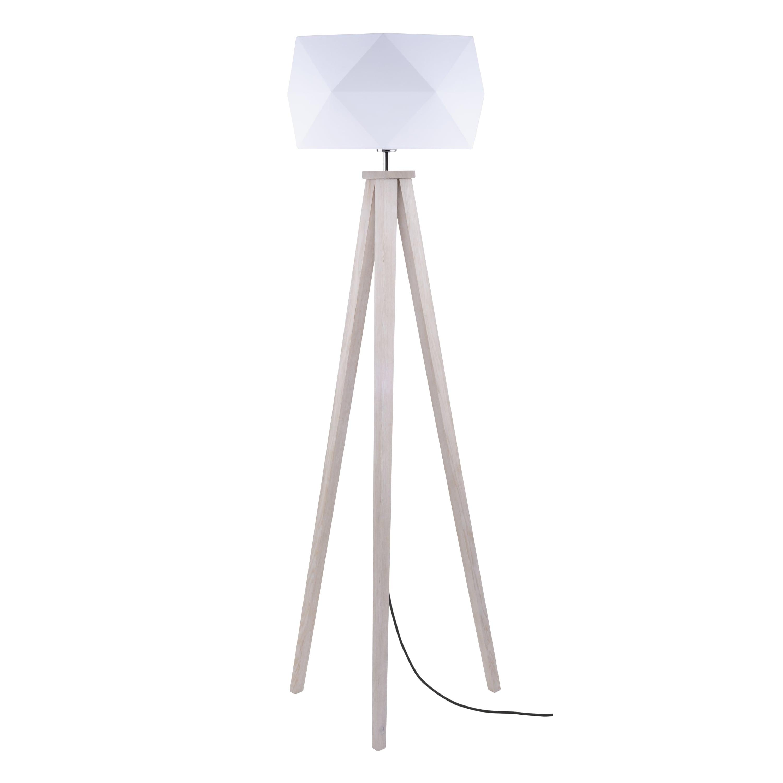 Floor lamp Finja dąb / anthracite / white E27 60W