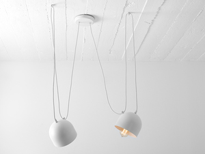 POPO 2 hanging lamp - white small 3