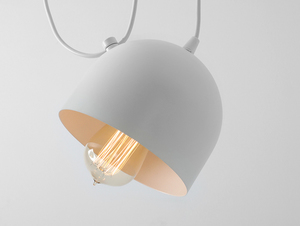 POPO 2 hanging lamp - white small 4