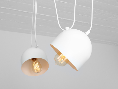 POPO 2 hanging lamp - white