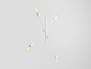 TWIGO 4 hanging lamp - white small 0