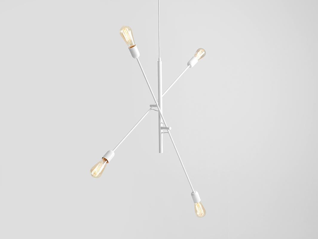TWIGO 4 hanging lamp - white