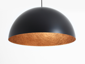 Hanging lamp LORD 70 - copper-black small 3