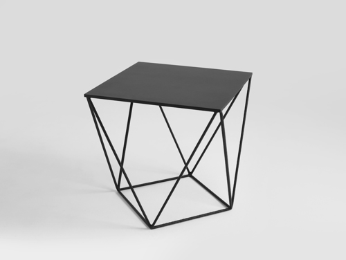 DARYL METAL 55 coffee table in industrial style