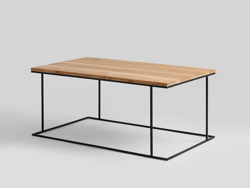 WALT SOLID WOOD 100x60 coffee table
