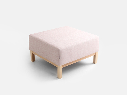 AMBIENT WOOD pouf