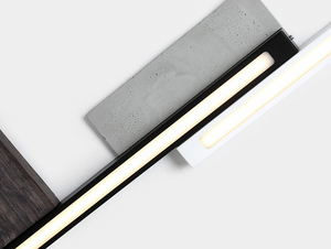 LINE PLUS XL ceiling lamp - black small 1