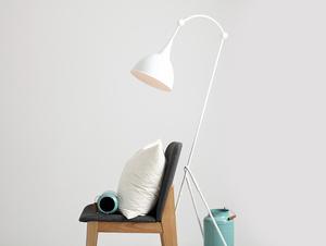 DEBY FLOOR floor lamp - white small 1