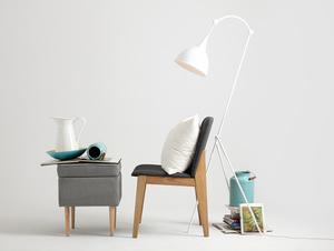 DEBY FLOOR floor lamp - white small 2