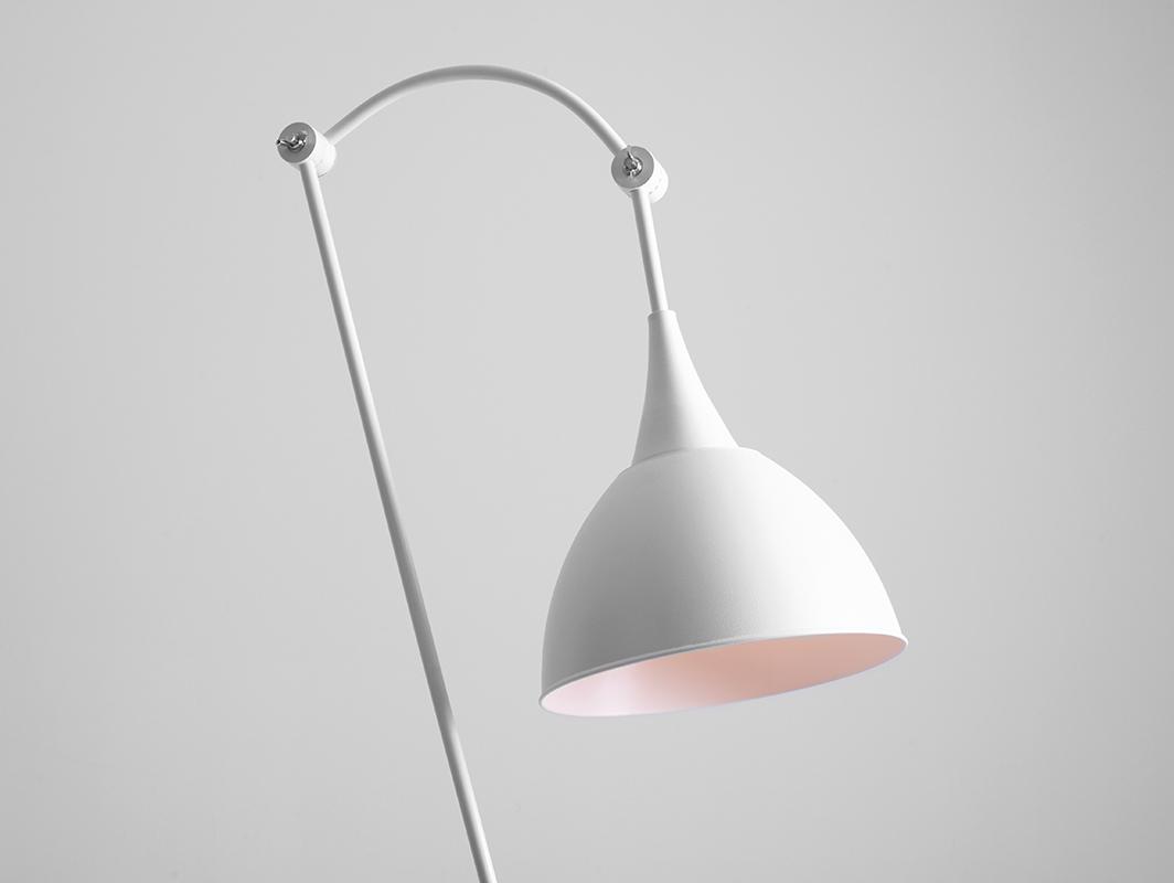 DEBY FLOOR floor lamp - white